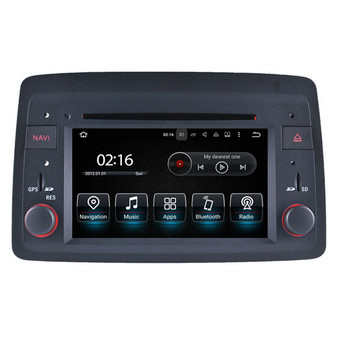 6.2'' Android Autoradio Fiat Panda(2004-)Navigation GPS DVD Player