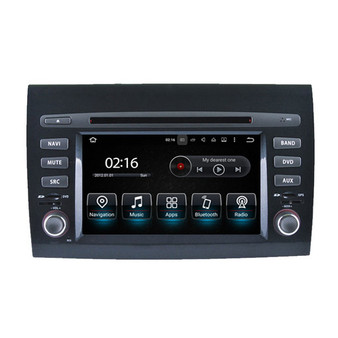 6.2'' Android DVD GPS Navigation Head Unit for Fiat Bravo 2007-2012