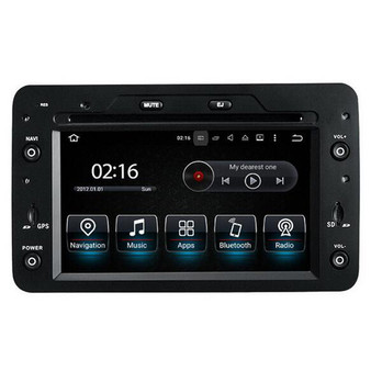 6.2'' Android GPS Navigation DVD Head Unit for Alfa Romeo 159 (2006--)