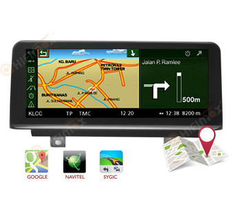 10.25'' Android GPS Navigation Head unit for BMW 1/2 F20 F21 F23 NBT RHD
