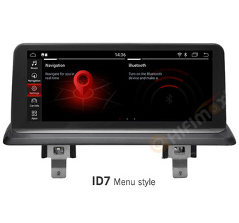 10.25'' Android Navigation GPS for BMW 1 series E81 E82 E87 E88 (original CCC)