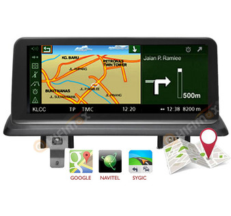 10.25'' Android Navigation Head Unit GPS for BMW 1 series E81 E82 E87 E88 (CIC)