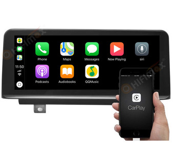 android os bmw 3/4 series navigation gps system support apple carplay android auto