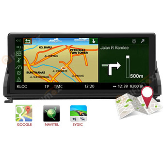 10.25'' aftermarket android BMW Z4 E89 Navigation GPS Head Unit support google map,waze,igo,sygic etc