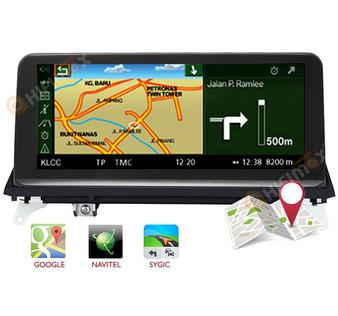 Android GPS Navigation Head Unit for BMW X5 E70 X6 E71 CCC support google map,waze,igo etc
