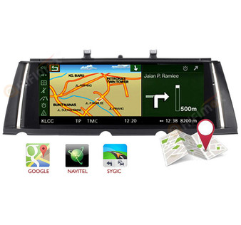 Android Navigation GPS upgrade for BMW 7  F01 F02 support google map,waze,igo etc