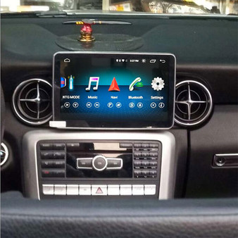 Installed 8.4''  Android GPS Navigation for Mercedes Benz SLK R172 2010-2015