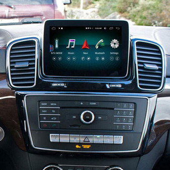 """Installed 8.4"""" Android GPS Navigation for Mercedes Benz GLS/GLE W166 X166 2015-2018"""