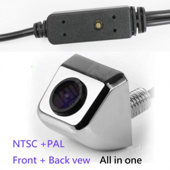 Universal Front View Camera and Rear-view Car Camera Switch by one Button