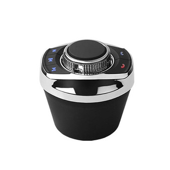 universal cup shape car wireless Steering Wheel Control Button with LED backLight for car android navigation player