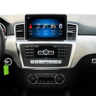 """installed 9"""" android Mercedes Benz navigation system in ML350 GL450 (2012-2015)"""