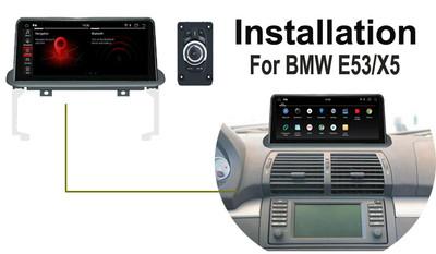 Android BMW 5 series E53 X5 GPS Navigation retrofit installation Guide