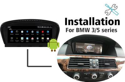 Installation manual for BMW 3 / 5 series E60 E90 Navigation GPS