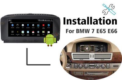 Installation manual for BMW 7 series E65 E66 Navigation GPS