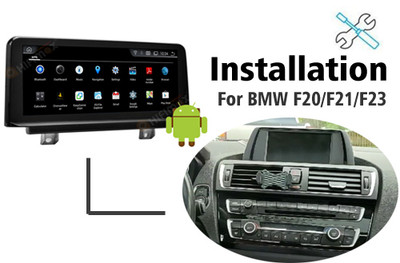 Installation manual for BMW F20 F21 F23 Navigation GPS