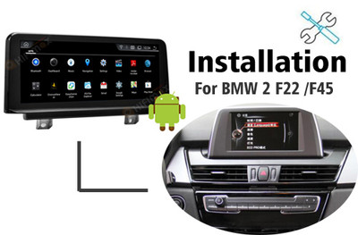 Installation manual for BMW 2 series F22 F45 F46 GPS navigation
