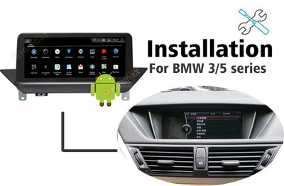 Installation manual for BMW X1 E84 Navigation GPS autoradio