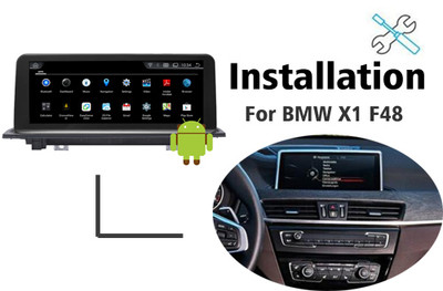 Installation manual for BMW X1 F48 Navigation Android GPS
