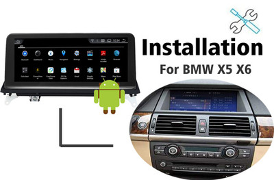 Installation manual for BMW X5 E70 X6 E71 Navigation GPS