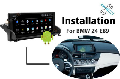 Installation manual for BMW  Z4 E89 Navigation GPS system