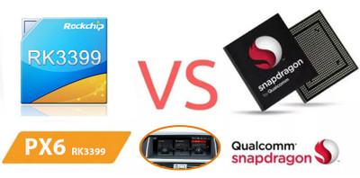 PX6 & Qualcomm Snapdragon BMW android navigation comparison