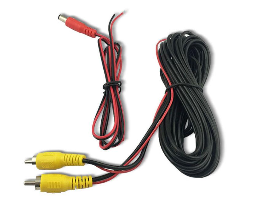 video cable and power cable for car camera