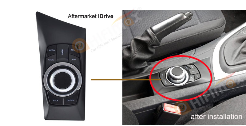 aftermarket idrive for bmw e87 navigation