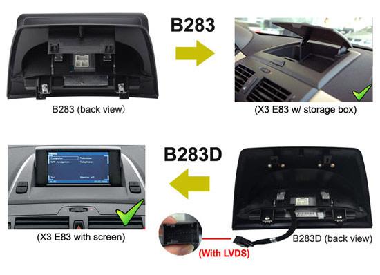 BMW X3 E83 Navigation head unit support google map,waze,igo etc