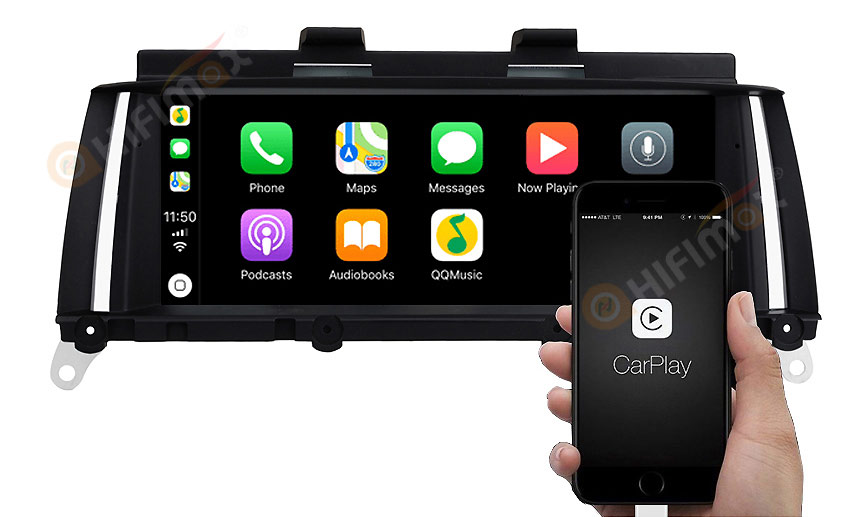 bmw x3 x4 andorid navigation support apple carplay