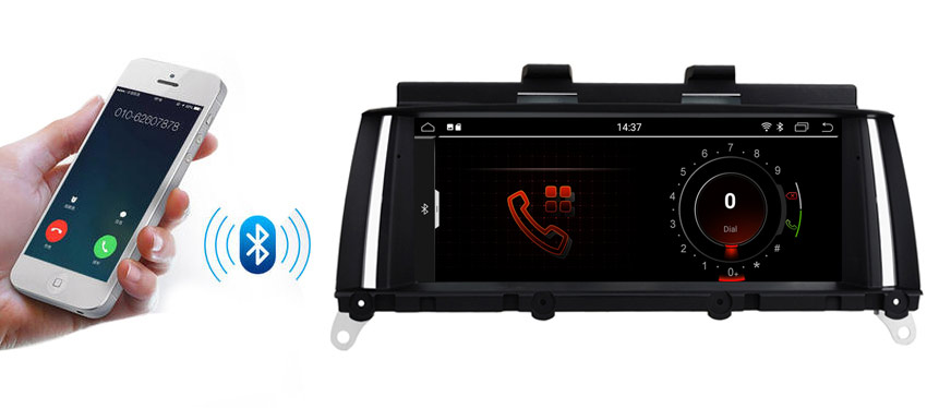 bmw x3 x4 gps navigation support bluetooth hands free