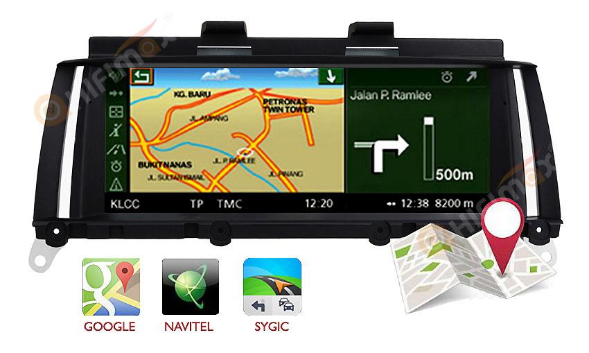 bmw x3 x4 navigation head unit