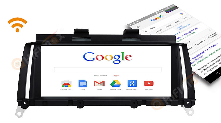 bmw x3 x4 navigation gps built-in wifi