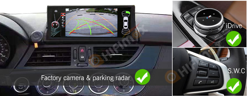 aftermarket bmw z4 navigation support original functions