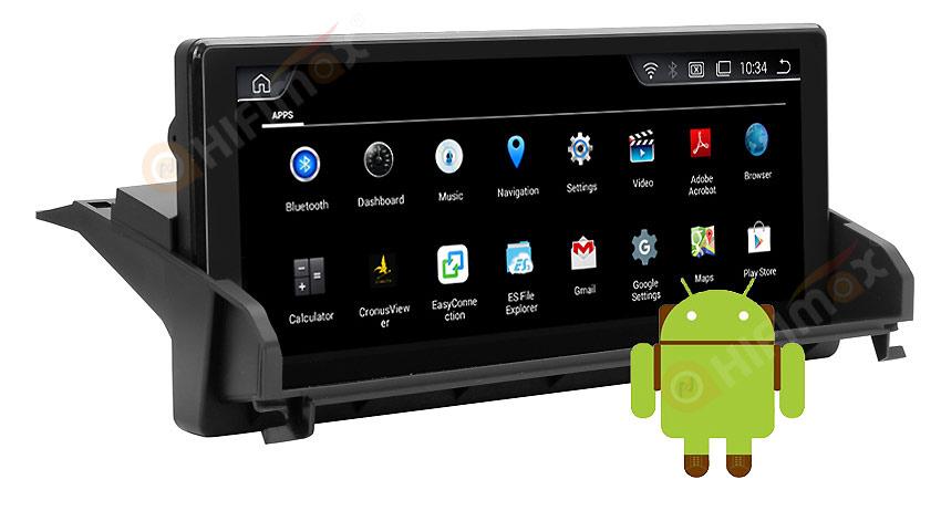 Aftermarket BMW Z4 E89 android navigation gps system