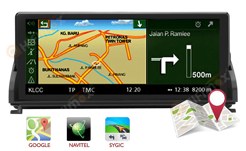BMW Z4 E89 Navigation head unit support google map,waze,igo etc