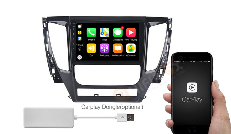 Mitsubishi Pajero gps navigation android autoradio apple carplay & android auto