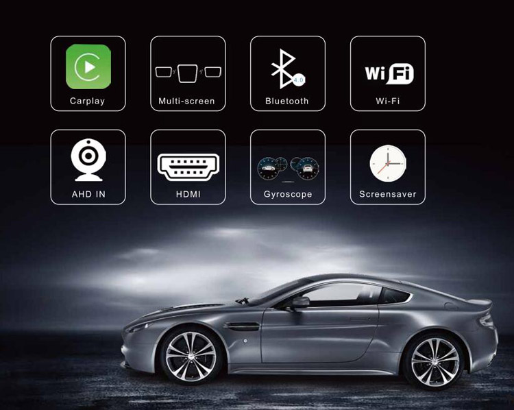 main functions for tesla style android navigation system