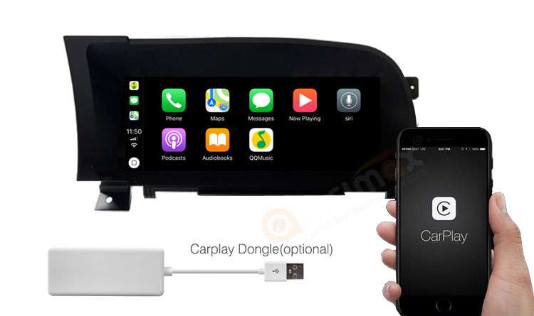carplay function of android navigation for Mercedes Benz S class W221 2005-2013 left hand drive