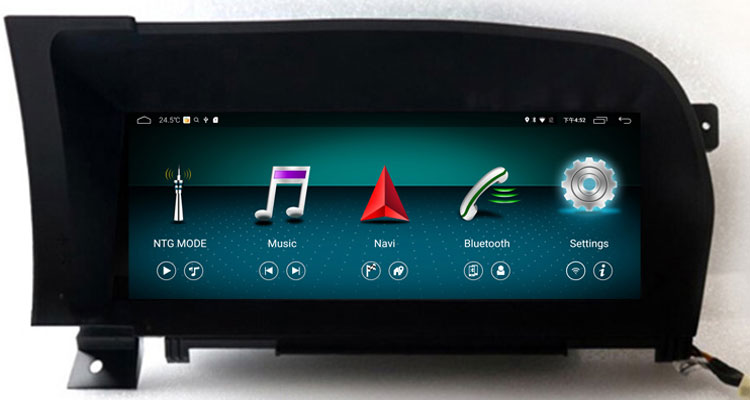 10.25'' android navigation head unit for Mercedes Benz S class W221 2005-2013 left hand drive