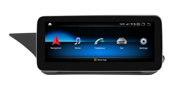 10.25'' android screen multimedia navigation for Mercedes E W207/W212/C207/A207/S212(13-15) with left hand drive bracket