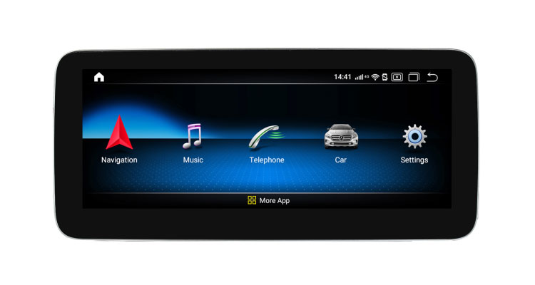10.25'' autoradio navigation head unit for Mercedes Benz GLA,CLA,A class 2015-2019