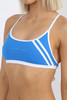 Capri Tie Back Top - Cancun Blue