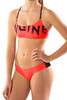 Brazilia Cross Back 2pce - Coral