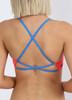 Brazilia Cross Back Top - Neon Cherry