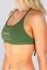 Capri Tie Back Top - Outline - Army Green