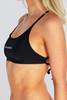 Capri Tie Back Top - Outline - Black