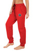 Red Track Pant - Medallion
