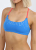 Brazilia Cross Back Top - Cancun Blue