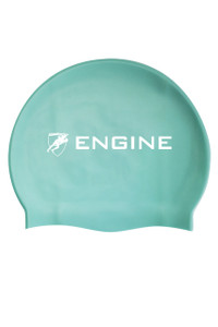 Solid Silicone Cap - Turquoise