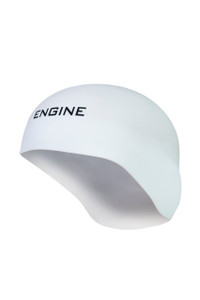 White Dome Racing Cap Solid